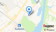 Аварийно-спасательная служба на карте