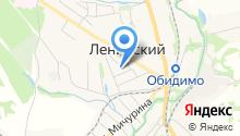 Прокуратура Ленинского района на карте