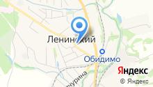 Отдел по работе с территорией Ленинский на карте