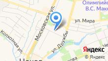 Подольская городская станция скорой медицинской помощи, ГБУЗ на карте