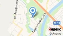 Дубрава, НП на карте