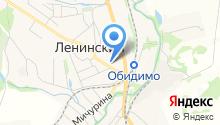 Центр занятости населения Ленинского района на карте