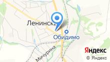 Отдел службы судебных приставов Ленинского района на карте