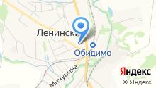 Отдел судебных приставов Ленинского района на карте