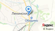 Ленинская средняя общеобразовательная школа №1 им. П.С. Борисова на карте