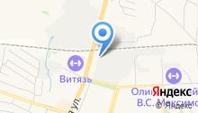 Современная гуманитарная академия на карте