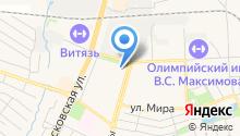 Почтовое отделение №142300 на карте