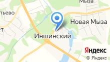 Векторком на карте
