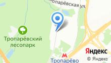 1001 Страховка на карте