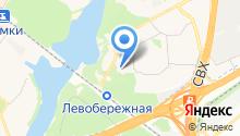 Венец на карте