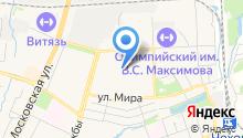 Лисёнок на карте