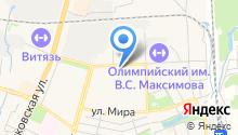 Московская городская телефонная сеть, ПАО на карте