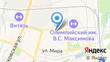Отдел ГИБДД УВД по Чеховскому муниципальному району на карте