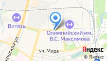 Акцент на карте