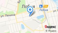 Магазин трикотажных изделий на ул. Крупской на карте