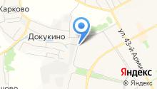 ДЕЗ города Подольска, МУП на карте