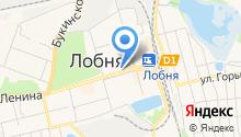 Лобненская центральная городская больница на карте