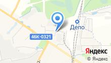 Ультрамарин на карте