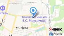 Груша на карте