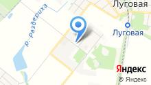 Сауна на ул. Научный городок на карте