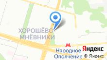 1000Потолков - Натяжные потолки на карте