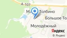 Толбинская средняя общеобразовательная школа на карте