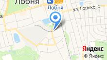 Отдел МВД России по г. Лобня на карте