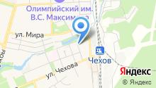 Чеховское кадастровое бюро, МУП на карте
