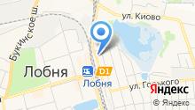 Отель №1 на карте