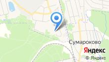 1 Служба на карте