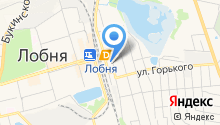 Магазин фастфудной продукции на Вокзальной на карте