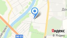 Moretown на карте