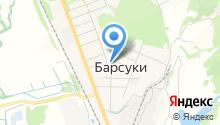 Барсуковский, МБУК на карте