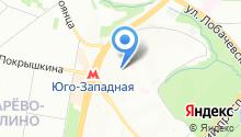 Эскимо-Фили, ЗАО на карте