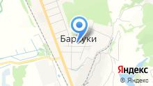 Барсуковская основная общеобразовательная школа-интернат им. А.М. Гаранина на карте