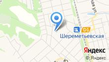 Церковь-часовня Покрова Пресвятой Богородицы в Шереметьевском на карте