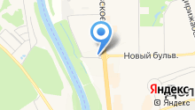 Магазин автозапчастей на Лихачёвском шоссе на карте