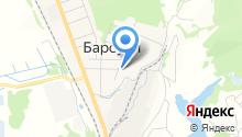Барсуковское рудоуправление на карте