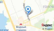 *прон* на карте