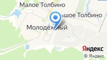 Управляющая компания Лаговское, МУП на карте