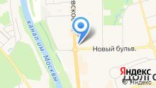 GSP на карте