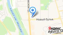 Дирижабль на карте