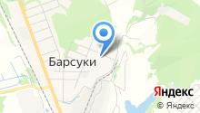 Продуктовая лавка на карте