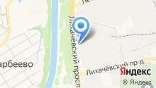 Октакем на карте