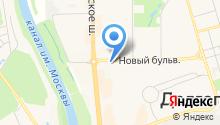 Сеть магазинов белорусских продуктов на карте