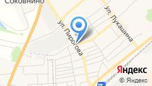 Клиника на Пирогова на карте