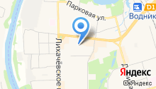 Детский сад №4, Рябинка на карте