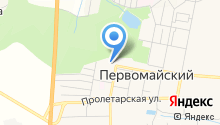 Средняя школа №16-Центр образования р.п. Первомайский на карте
