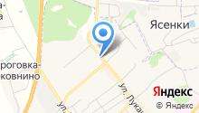 Стационарный пост полиции на карте