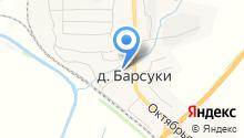 Барсуковский на карте